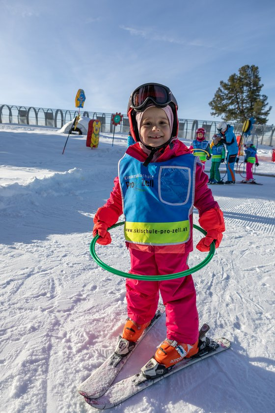 Children's ski course in the Zillertal Arena